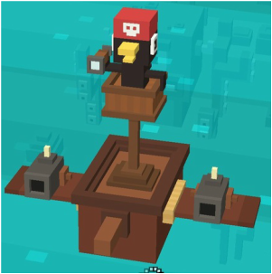 Look Out Below Shooty Skies Secret Character